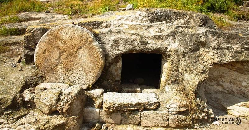 4 Then he rolled a stone across the entrance [PowerPoint 5-Tomb] The stone usually rolled down hill slightly and had a ledge so it wasn t so easy to roll away again it would take one person to close