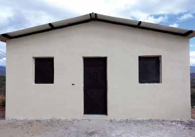 House Construction Plans m BEDROOM BEDROOM m BATHROOM LIVING/DINING About the House Our simple house plan offers a low-cost solution to Guatemalan families desperate need for safe, secure, sturdy