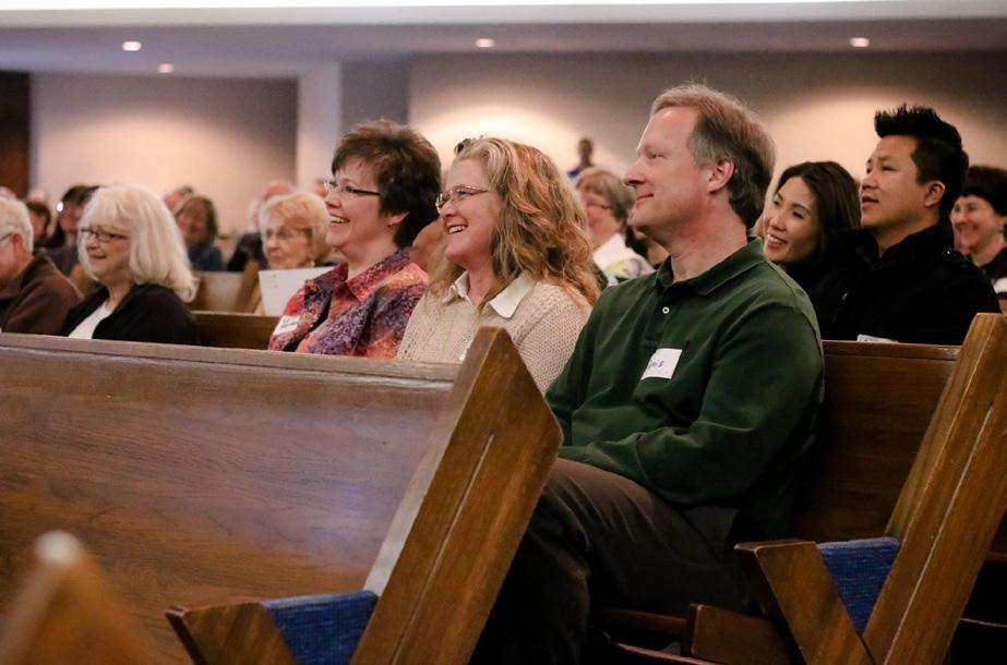 Through prayer, contemplation and discussion, parishioners were fully engaged in an 8-month process to discern the will of the Holy Spirit for the parish.