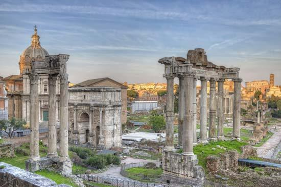 learning and ideas = Italy has most prominent connections to the legacy of Ancient Rome Italian