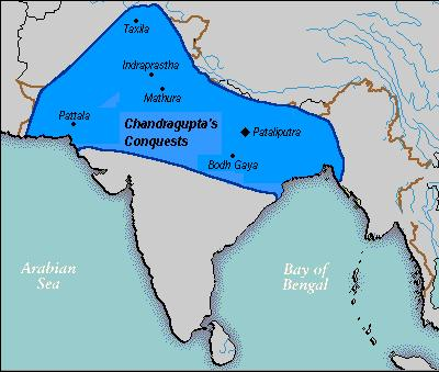 In 321 BC, at the age of 20, Chandragupta Maurya proclaimed himself ruler of the Mauryan Empire.