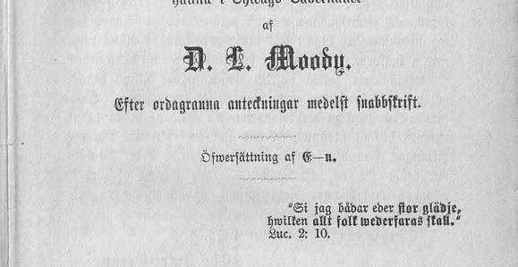 D. L. Moody and Swedes - PDF