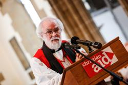 Rowan Williams interview Rowan Williams, Chair of Christian Aid A Chair is the leader of an organisation. Who is he?