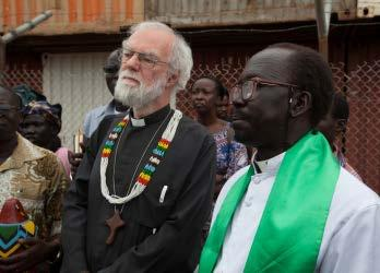 Rowan Williams interview What does your vision of God imply about how humanity should deal with poverty? One thing about the Bible is that it suggests God s presence creates community.