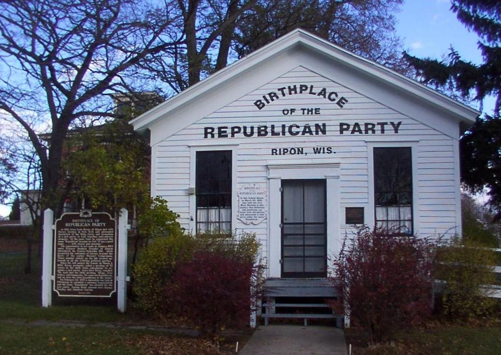 Some people argue that the political party started in Wisconsin.