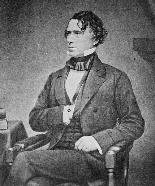 Franklin Pierce of New Hampshire Our 14 th President He was a northerner, but he sympathized with the
