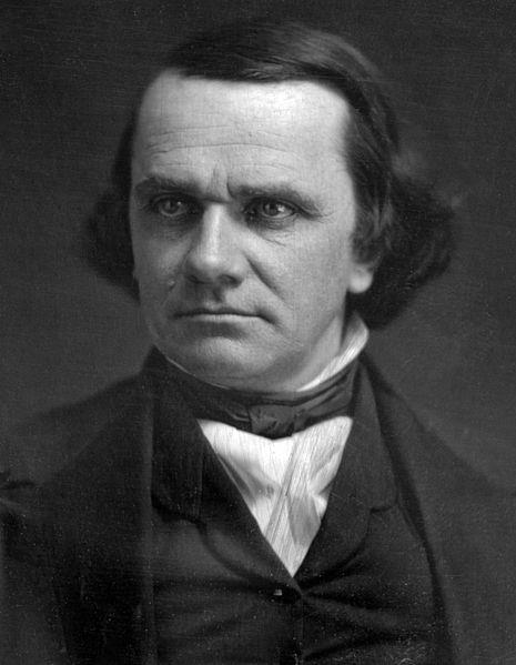 Stephen Douglas, a Senator from Illinois, knew Southerners did not want to add another free state into the union.