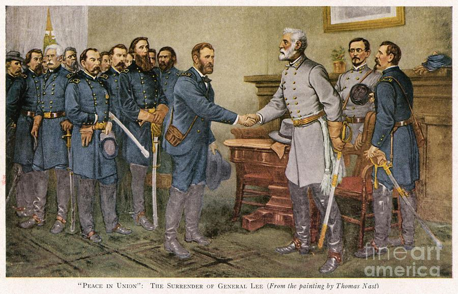 SURRENDER AT APPOMATTOX COURTHOUSE Robert E.