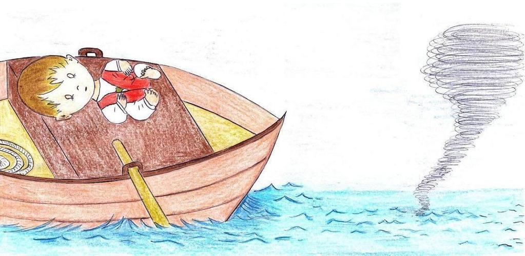 18 JESUS CALMS A STORM After teaching the people, Jesus and His disciples went up on boats and Jesus said to them: Let us go over to the other side.