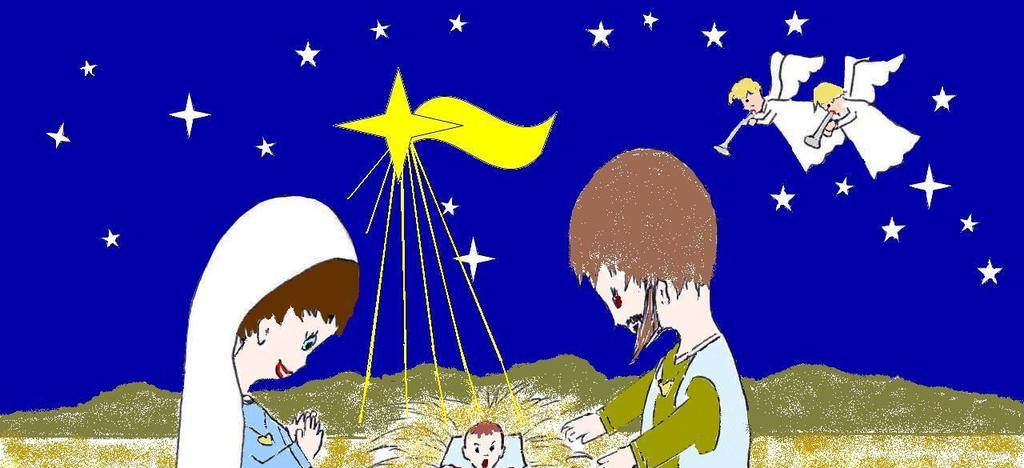 3 JESUS BIRTH Mary and Joseph lived in the town of Nazareth and went to Bethlehem because God had said that Jesus was to be born there.