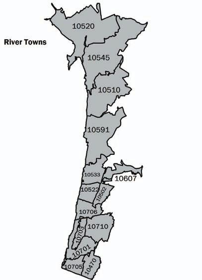 WESTCHESTER RIVER TOWNS 368 RIVER TOWNS Demography and Social Characteristics The River Towns includes Ardsley, Tarrytown, Irvington, Hastings on Hudson, and Yonkers.