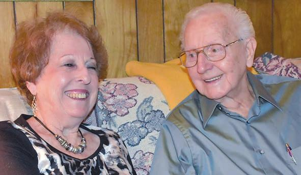 February 16, 2018 3 Faith cornerstone for couple married 67 years By Richard Meek Theirs is a story of love, born in the unlikeliest of places, and tightly knitted for more than six decades through