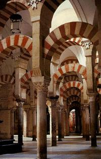 The Great Mosque at Cordoba: 785 Spain Its Great Hall