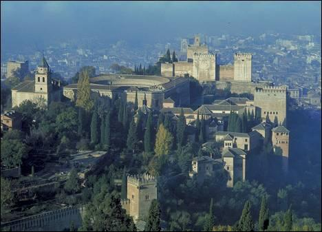 The Alhambra: 13-14 th Centuries Granada, Spain The Alhambra was a palace, a citadel, fortress, and the home of the