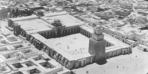 Islam: 7 th -11 th Century saw building of great congregation or Friday Mosques Walled rectangular