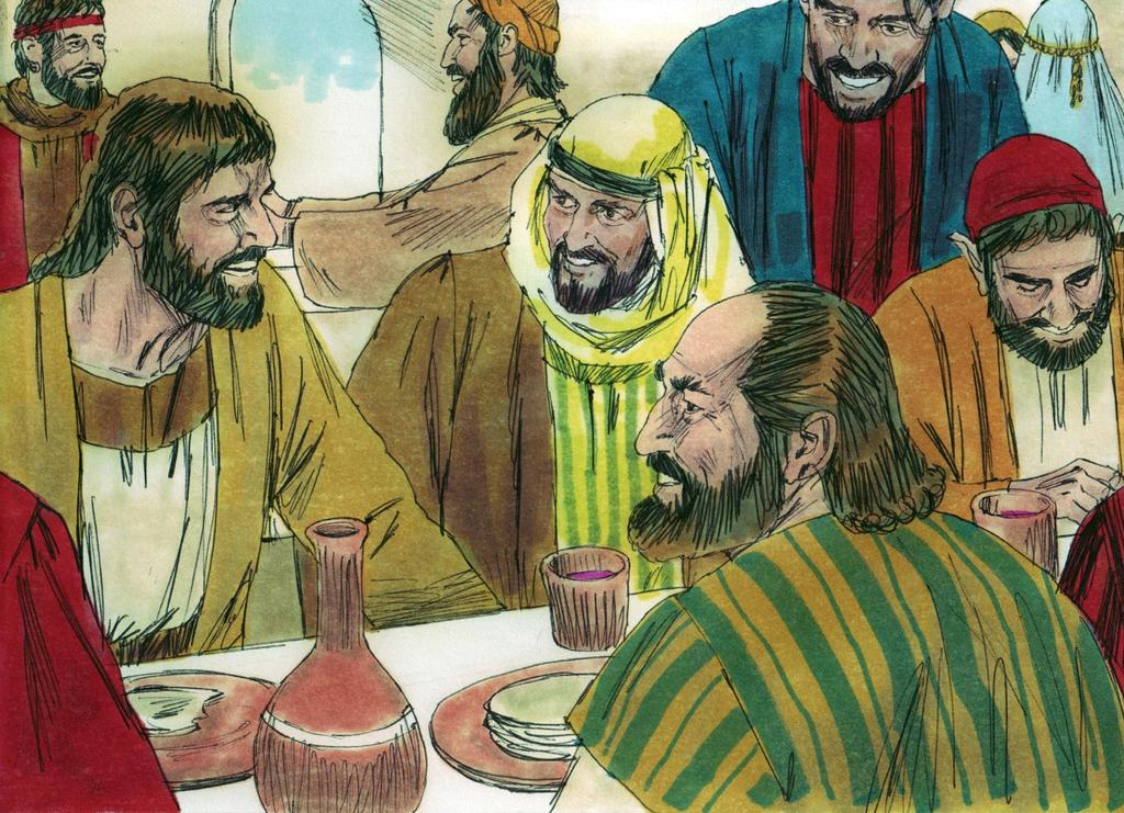 9. The church shared meals and shared the Lord s Supper together. The church often ate food together.