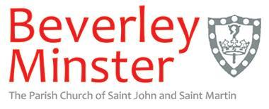 House for Duty at Beverley Minster We are looking for someone who can offer ministry on Sundays and on agreed days during the week.