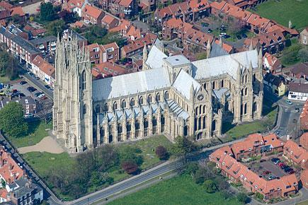 Our Churches Beverley Minster Beverley Minster is a large and flourishing parish church with added responsibilities and opportunities that result from its exceptional building and regional prominence.