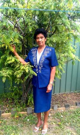 I am Gwen De Silva and I am from Sri Lanka. My husband and I came to Australia in 2004 when we decided to be with our sons after our retirement.