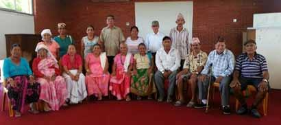 T he majority of the Bhutanese elderly came to Cairns late 2011. Many of us are still missing members of our families who are in Nepal waiting for visas to be reunited in Australia.