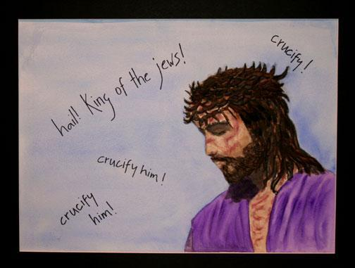 Station 6: Theme-Pain & Sorrow Jesus is Scourged and Crowned with Thorns Reflection Question: Prayer Jesus, why