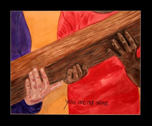 Station 8: Theme-Accepting & offering help Jesus is Helped by Simon to Carry the Cross Reflection Question: Prayer