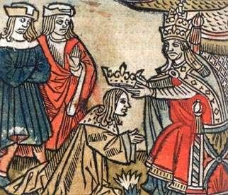 Charles Martel passed power on to his son Pepin Pepin fought the Lombards who threatened Rome.