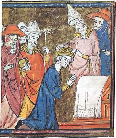 Holy Roman Emperor Charlemagne traveled to Rome to fight in support of Pope Leo