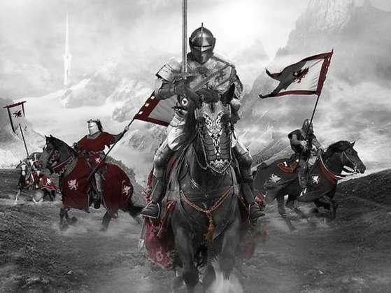 Knights and Chivalry The Black Knight Feudal lords needed warriors to