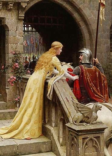 Knights supposedly lived according to standards of chivalry which
