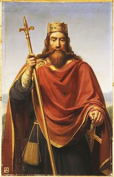 In the Roman province of Gaul, a Germanic people called Franks held power.