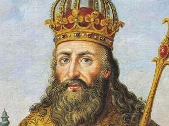 Charlemagne became king of the Franks in 768 A.D.