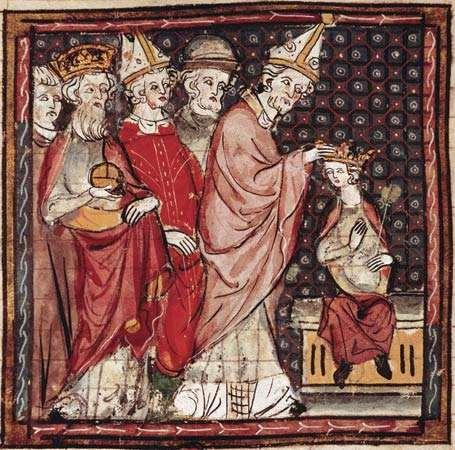 Charlemagne s Heir A year before Charlemagne s death, in 814, he crowned his only surviving