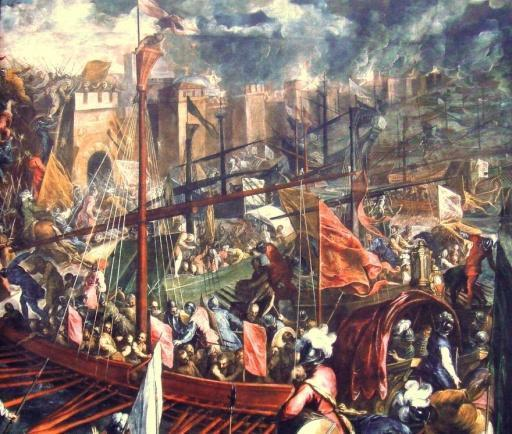 Economic Developments Genoa and Venice benefitted from the Crusades Carried knights and goods to and from the Holy