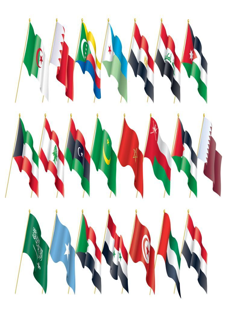 There are 22 Arab countries which are referred to as the Arab World The Arab population