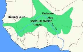 Empire of Songhai Took over important gold and salt trade routes following the collapse of Mali Songhai