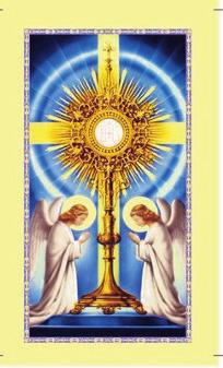 Exposition of the Blessed Sacrament and Holy Hour of Prayer On Friday, January 6, after the 9:00am Mass our parish will provide the Exposition of the Blessed Sacrament, followed by a Holy Hour of