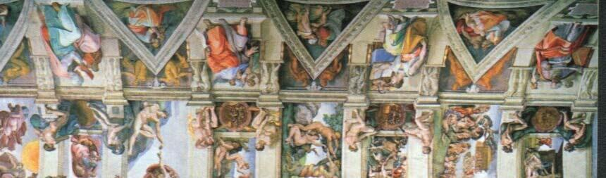 Michelangelo's greatest works was
