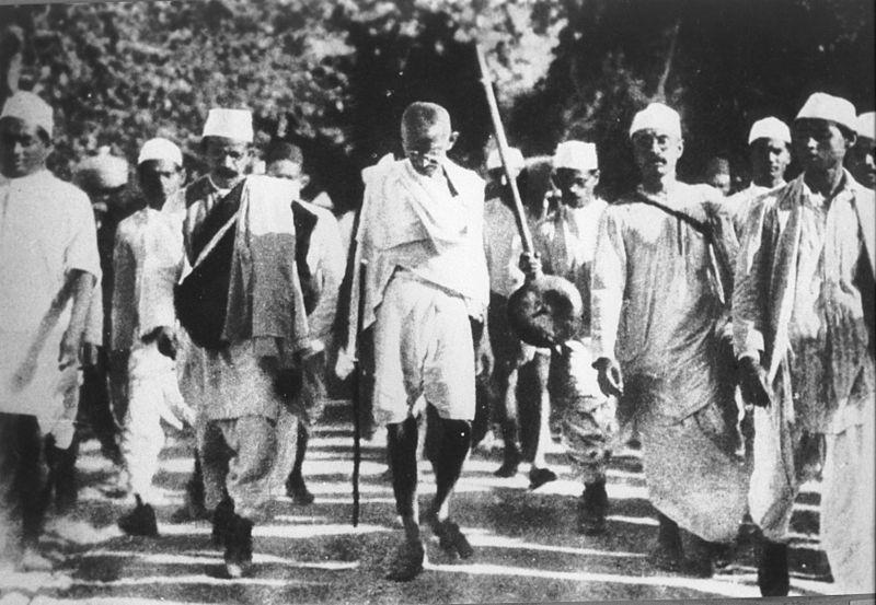 THE SALT MARCH In 1930, Gandhi organized the Salt March in protest of the Salt Acts.