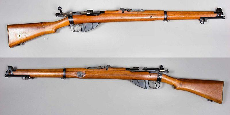 .303 LEE-ENFIELD RIFLE The troops who fired on the