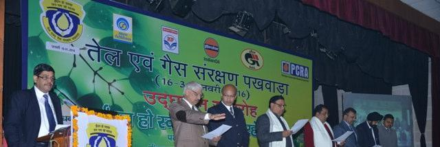 Rajasthan Conservation Pledge being administered
