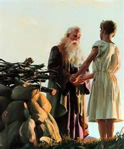THE OBEDIENCE OF ABRAHAM 21-24. James 2:21 24 Don t you remember that our ancestor Abraham was shown to be right with God by his actions when he offered his son Isaac on the altar?