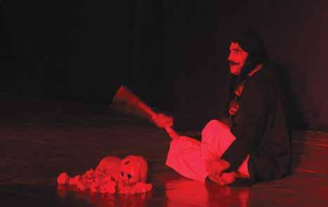 Navras was a Hindi play enacted by class 8, 9 and 11