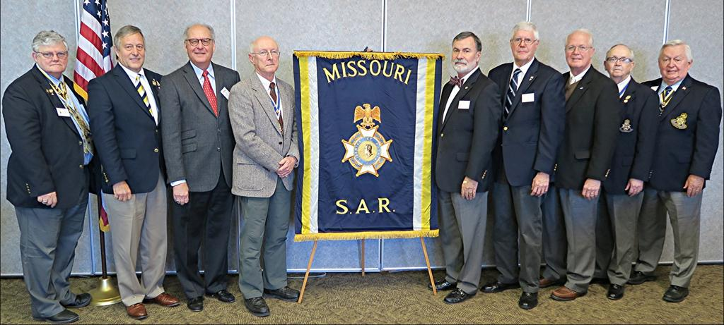 Images from the Missouri Society Quarterly Meeting at