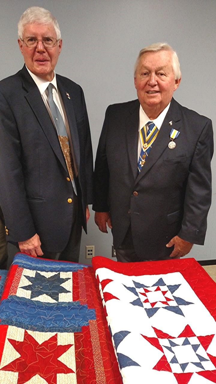 The Mid-Missouri Quilts of Valor organization creates quilts for military veterans.
