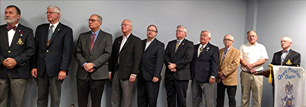 Ozark Mountain Chapter Officer Installation 2017 Meet OMC Officers 2017-2018 L-R: J.