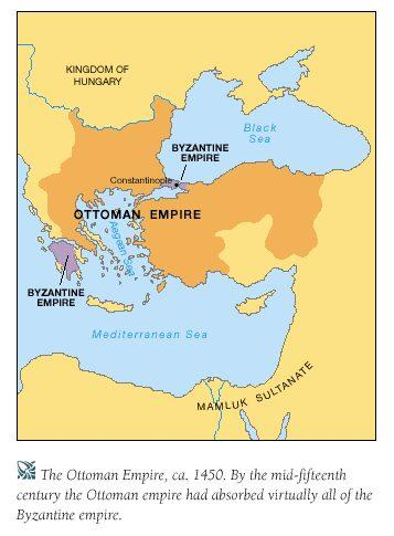 Whatever happen to the Byzantines? The Byzantine Empire collapsed in 1453 at the hands of Ottoman Turks.