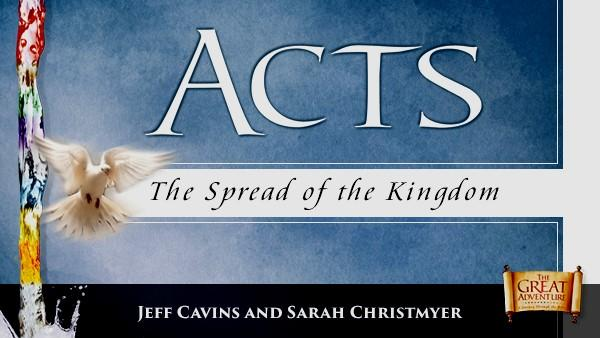 ADULT SERIES The ACTS, The spread of the Kingdom builds on the Bible Timeline by showing how Christ s Kingdom on earth is empowered to carry out his work in the world.