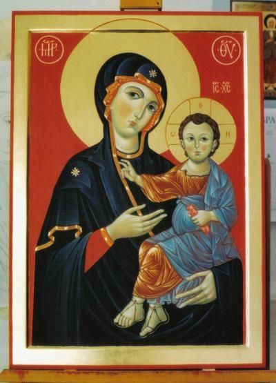 over icons paintings or sculptures of sacred figures Iconoclasts