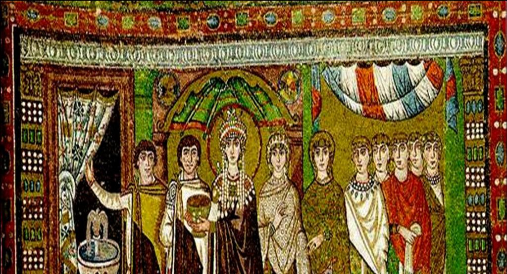 Empress Theodora Wife of Justinian and coruler of the empire Nika Revolt rebellion against the